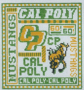 click here to view larger image of University of California Cal Poly (hand painted canvases)