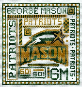 click here to view larger image of George Mason University (hand painted canvases)