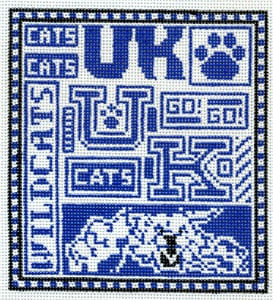 click here to view larger image of Kentucky Wildcats (hand painted canvases)