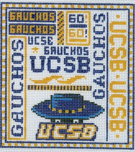 click here to view larger image of University of California Santa Barbara (hand painted canvases)