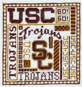 click here to view larger image of U of Southern California (hand painted canvases)