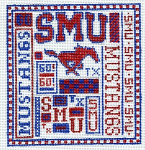 click here to view larger image of SMU (hand painted canvases)