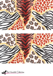 click here to view larger image of Animal Skins (hand painted canvases)