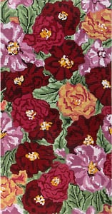 click here to view larger image of Peonies (hand painted canvases)