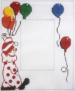 click here to view larger image of Clown with Balloons (hand painted canvases)