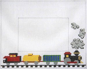 click here to view larger image of Child's Train (hand painted canvases)