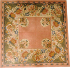 click here to view larger image of Country French Rug (hand painted canvases)