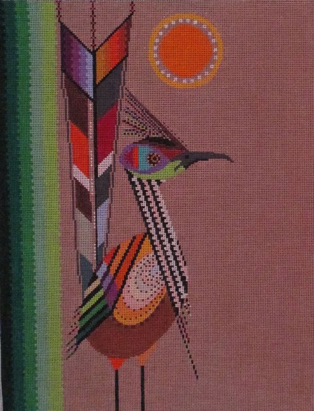click here to view larger image of Roadrunner (hand painted canvases)