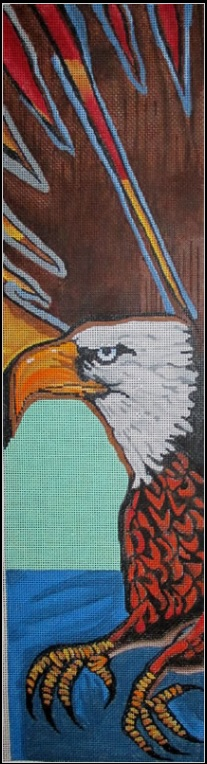 click here to view larger image of Eagle (hand painted canvases)