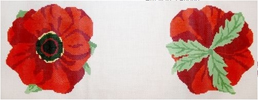 click here to view larger image of Poppy - 13 Count (hand painted canvases)