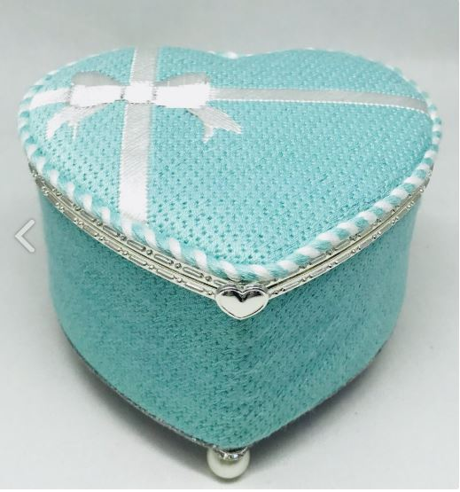 click here to view larger image of Tiffany Box (hand painted canvases)