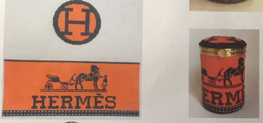 click here to view larger image of Hermes Box (hand painted canvases)