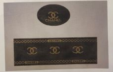 click here to view larger image of Chanel Box (Black) (hand painted canvases)