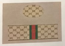 click here to view larger image of Gucci Box (hand painted canvases)