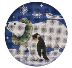 click here to view larger image of Arctic Animals (hand painted canvases)