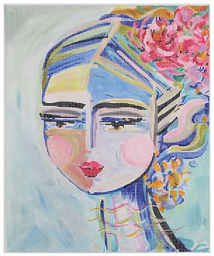 click here to view larger image of Warrier Girl (hand painted canvases)