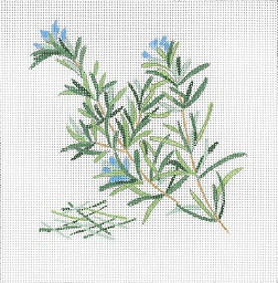 click here to view larger image of Botanical Spice Tile - Rosemary (None Selected)