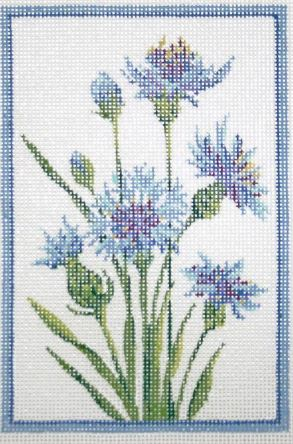 click here to view larger image of Germany Cornflower Stitch Guide (books)