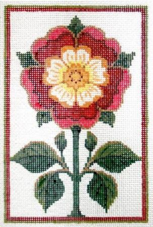 click here to view larger image of England Tudor Rose Stitch Guide (books)