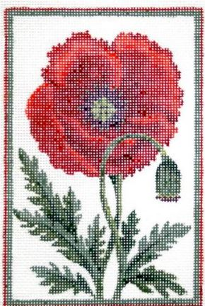 click here to view larger image of Belgium Poppy Stitch Guide (books)