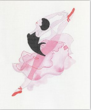 click here to view larger image of Ballerina II (hand painted canvases)