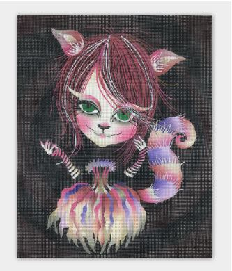 click here to view larger image of Cheshire Cat (hand painted canvases)