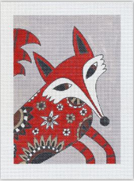 click here to view larger image of Frank is a Fox (hand painted canvases)