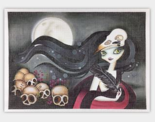 click here to view larger image of Witching Hour (hand painted canvases)