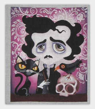 click here to view larger image of Poe (hand painted canvases)