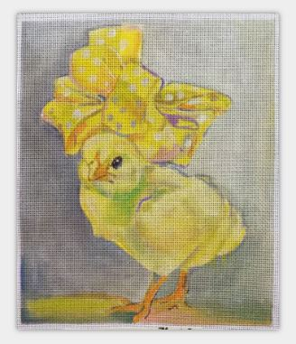 click here to view larger image of Peep (hand painted canvases)