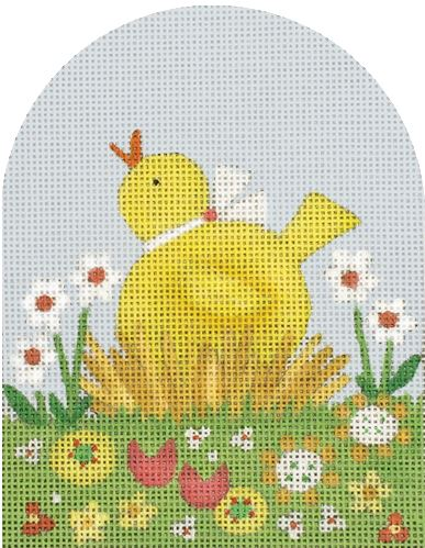 click here to view larger image of Baby Chick Dome (hand painted canvases)