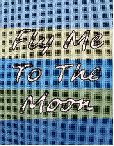 click here to view larger image of Fly Me to the Moon (hand painted canvases)