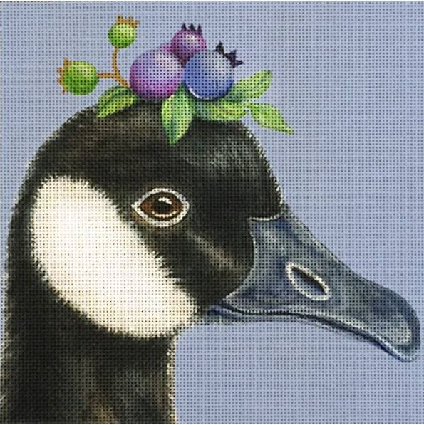 click here to view larger image of Glenda (Canadian Goose) (hand painted canvases)