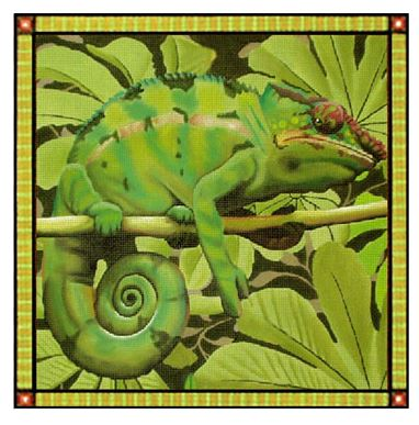 click here to view larger image of Chameleon - 13M (hand painted canvases)