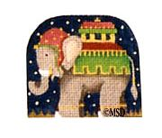 click here to view larger image of Nativity Thimble Elephant - 24M (hand painted canvases)