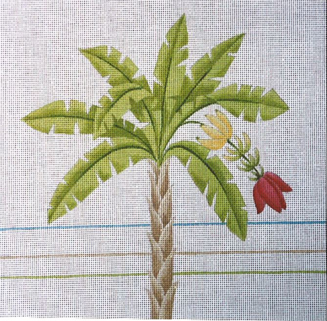 click here to view larger image of Banana Palm (hand painted canvases)