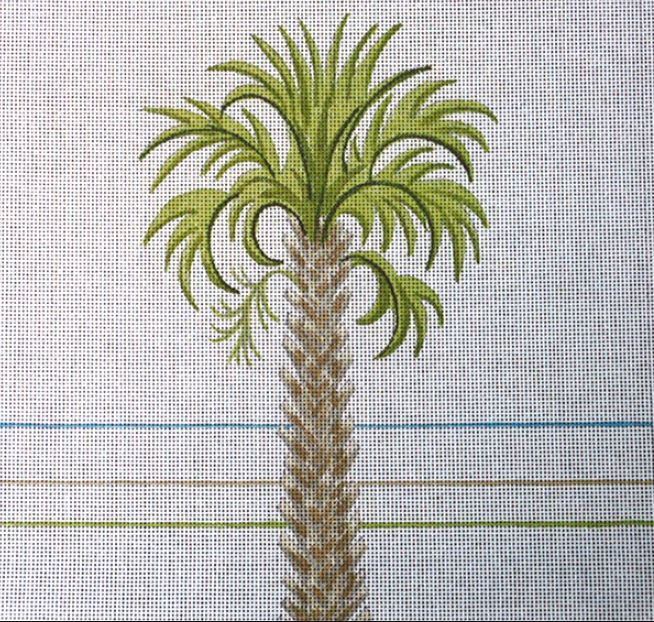 click here to view larger image of Cabbage Palmetto (hand painted canvases)