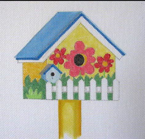 click here to view larger image of April - Spring Birdhouse (hand painted canvases)