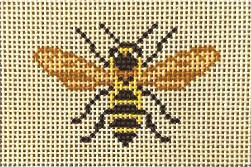 click here to view larger image of Bee Flat (hand painted canvases)