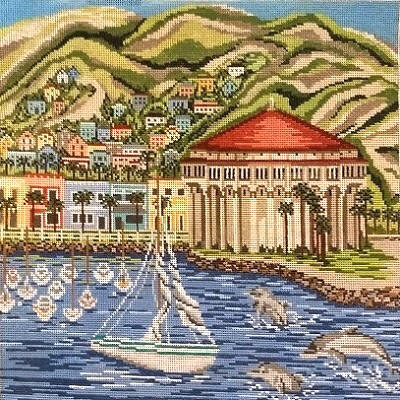 click here to view larger image of Catalina Island (Avalon, CA) (hand painted canvases)