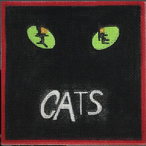 click here to view larger image of Cats (hand painted canvases)