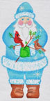 click here to view larger image of Cardinal Santa (hand painted canvases)