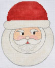 click here to view larger image of Snow Globe Santa (hand painted canvases)
