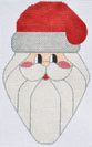 click here to view larger image of Christmas Light Santa   (hand painted canvases)