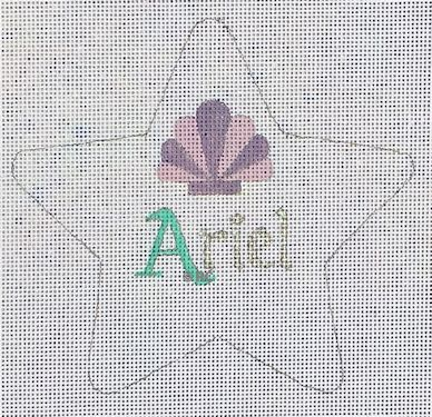 click here to view larger image of Ariel Star (hand painted canvases)