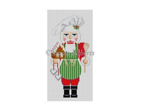 click here to view larger image of Chef Gingerbread (hand painted canvases)