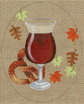 click here to view larger image of Brazen Brown Ale Stitch Guide (hand painted canvases)