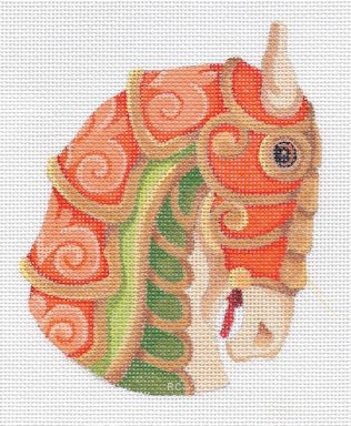 click here to view larger image of Horse Head 3 (hand painted canvases)