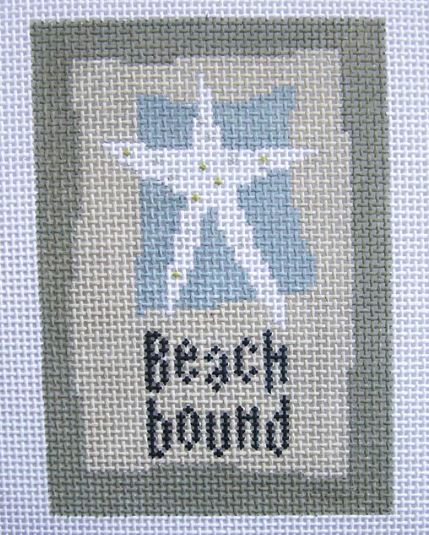 click here to view larger image of Beach Bound (hand painted canvases)