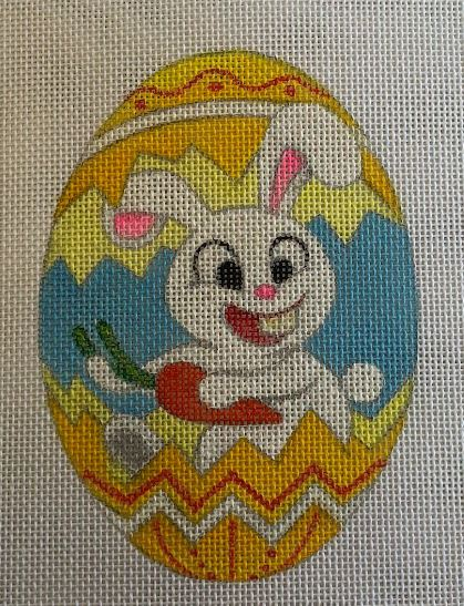 click here to view larger image of Bunny - Yellow (hand painted canvases)